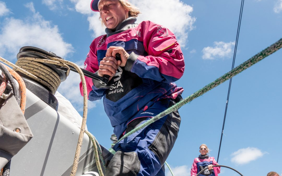 Coaching at The Championship: Crews Get an Insight into What it Takes to be a Volvo Ocean Racer!