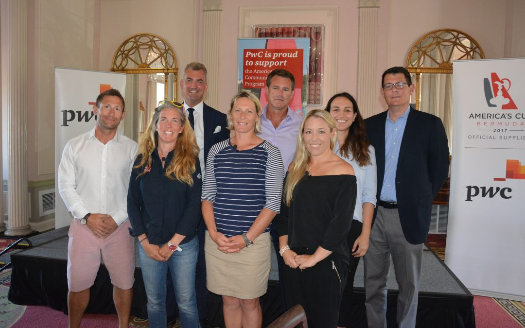 Advancing women in sailing – PwC hosts panel discussion with top female sailors