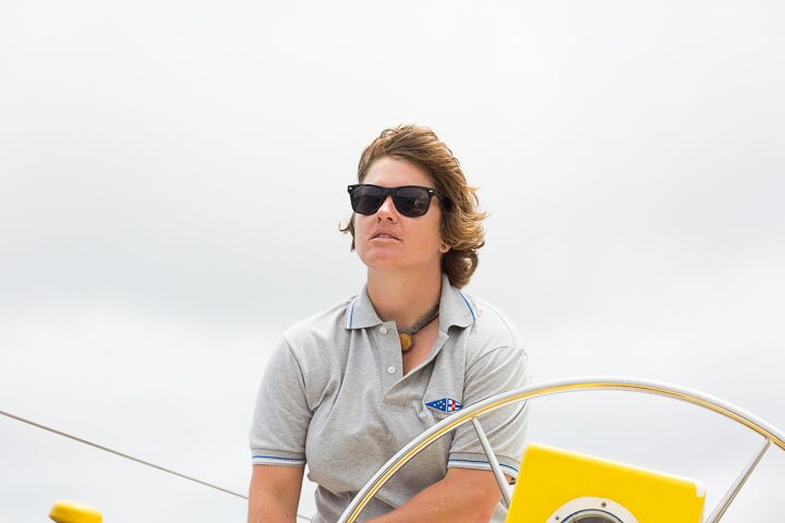 Lisa Blair, first women to solo circumnavigate Antartica